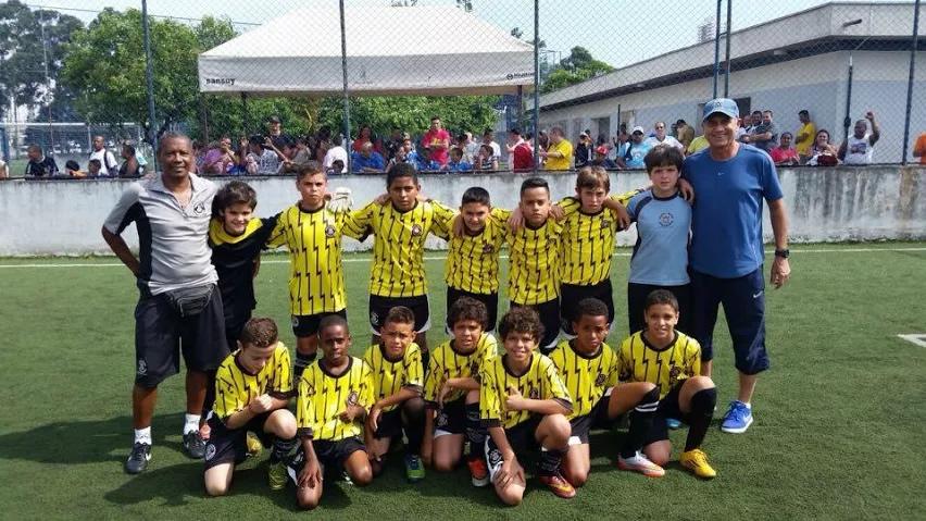 Equipe Sub 11 Disputando titulo no Parque São Jorge
